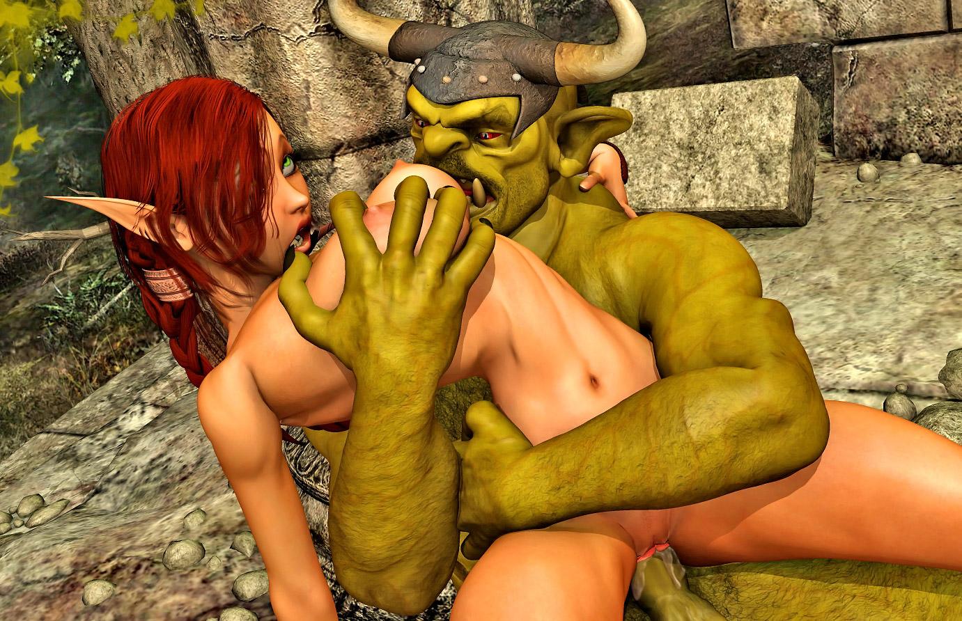 Girls who fuck monsters porn scene