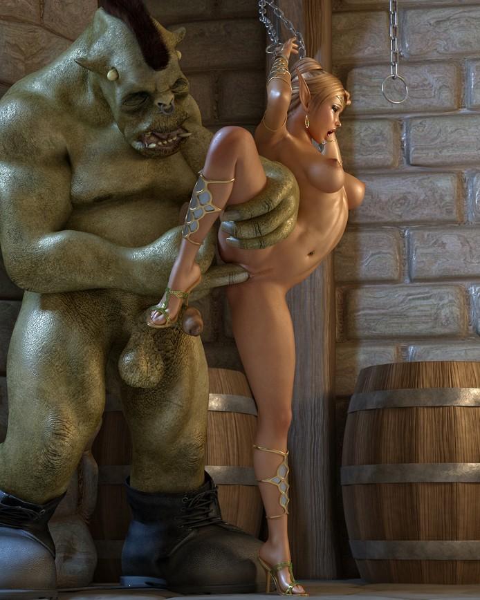 Порно фото 3д эльфы