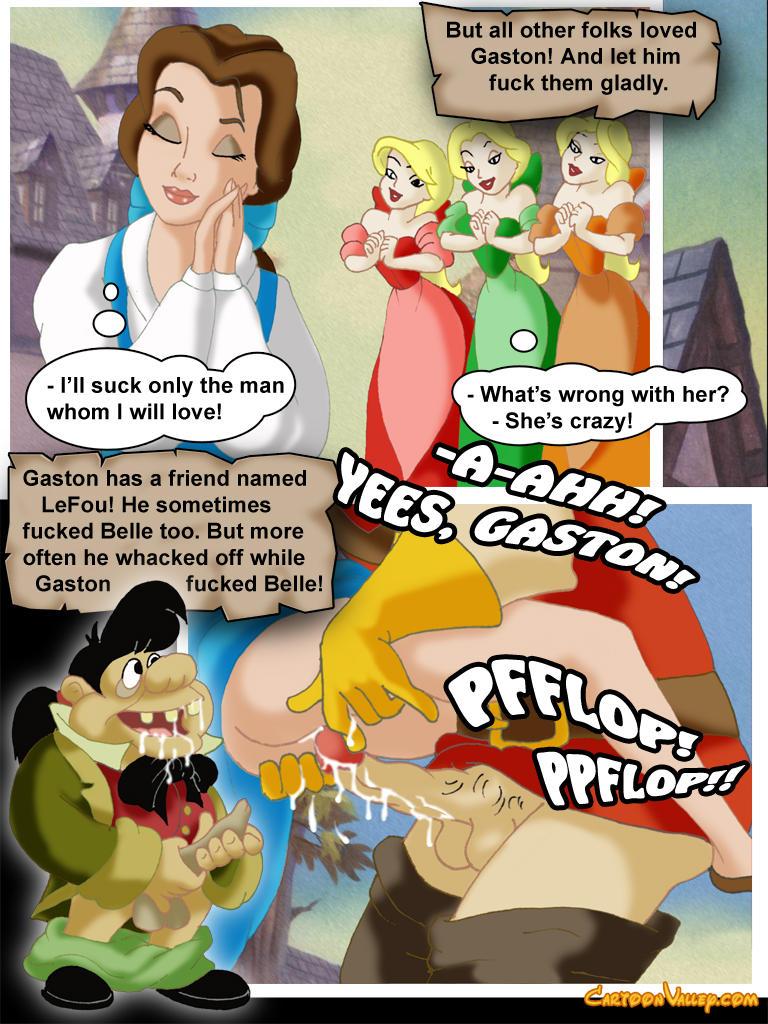Belle comic porn assured, that