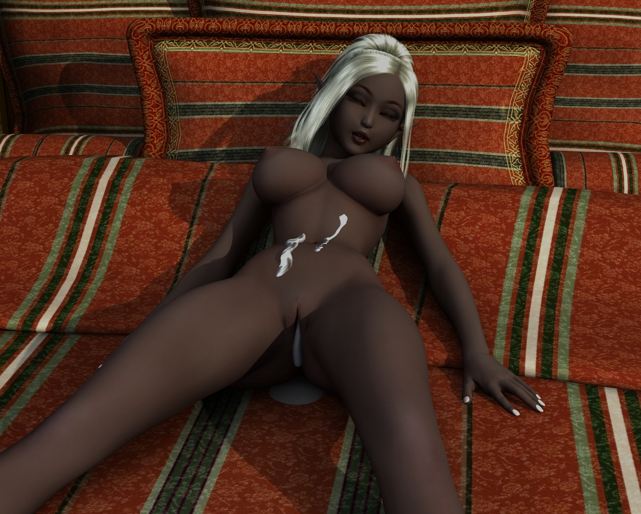 Hot nude sexy dark elf sex clip