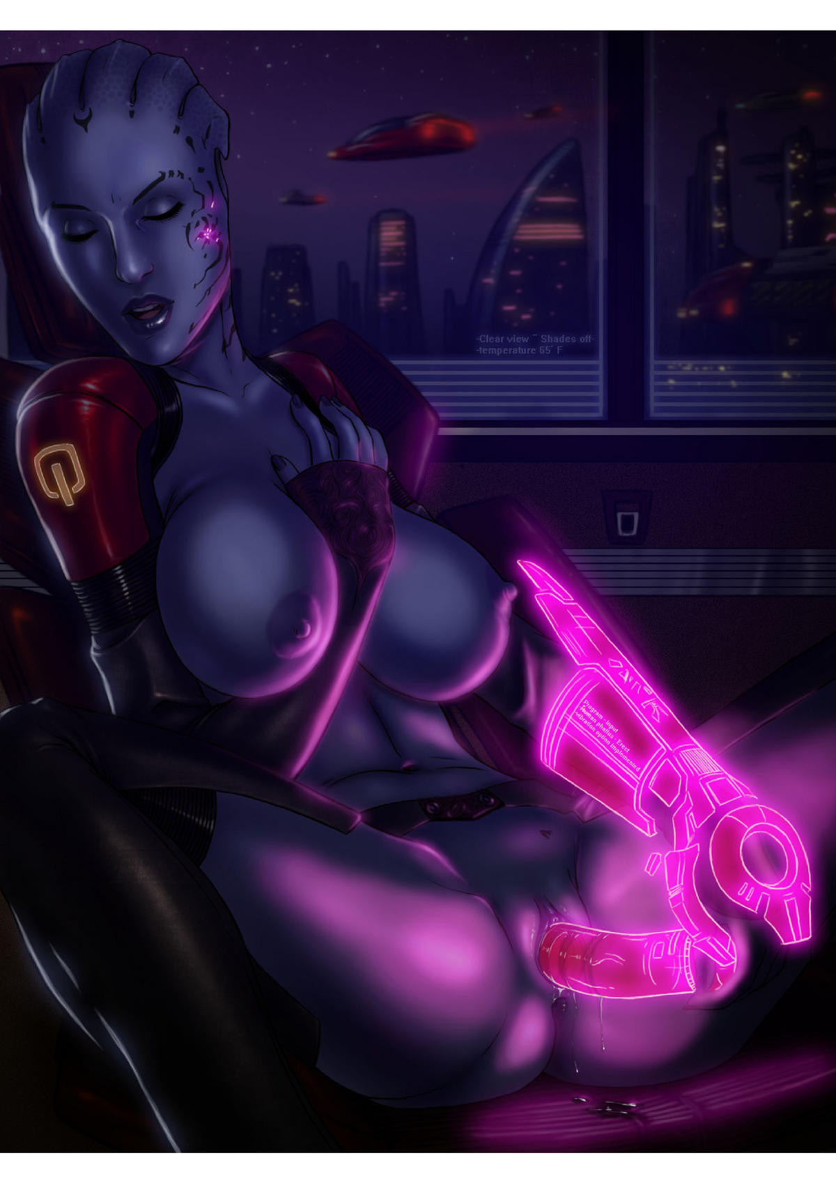 nude toons mass effect