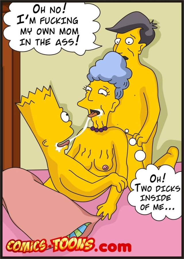 cartoon porn pics of the simpson's porn media gay simpson