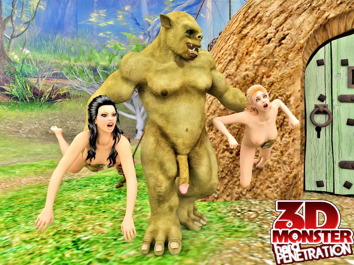 Monster sex impregnation 3d pics anime photo