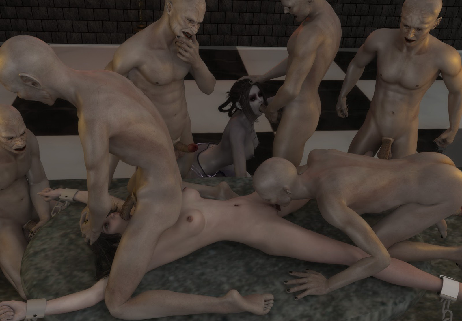 Male 3d monster porn sex clips