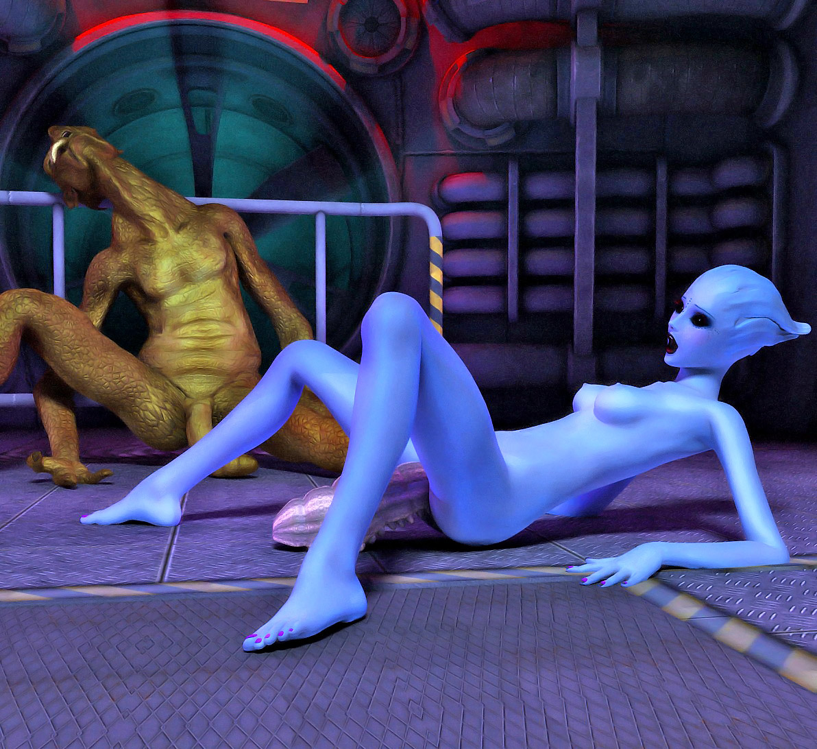 Alien monsters fuck babes hentai pics