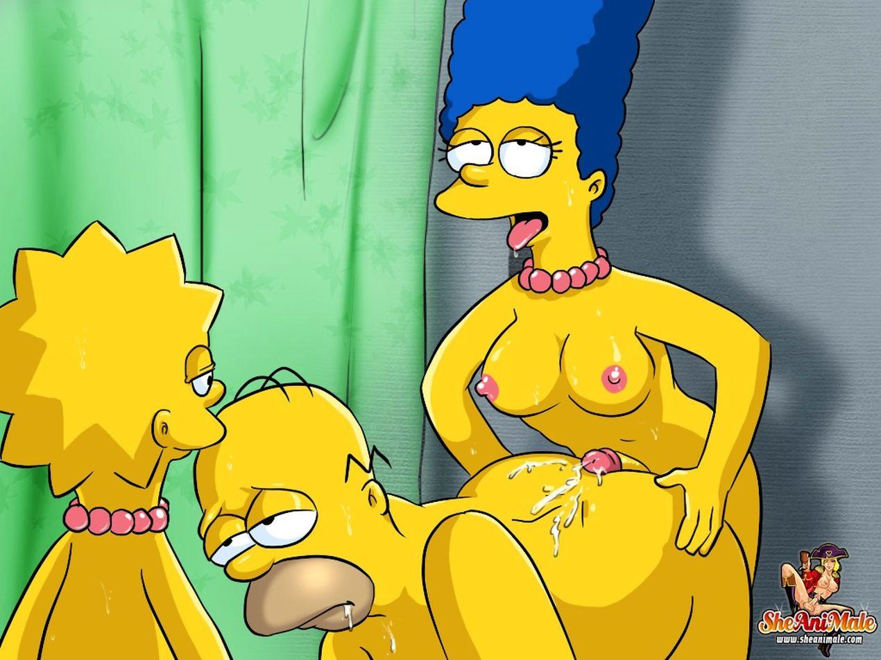 Порно картинки симпсоны шимейл фото 128-456