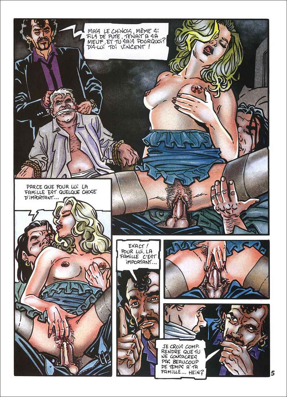 More modest adult comic erotic free strip
