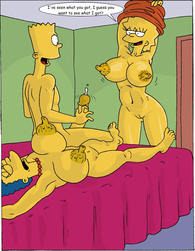 comic porno pictures porno comic marge lisa bart rule