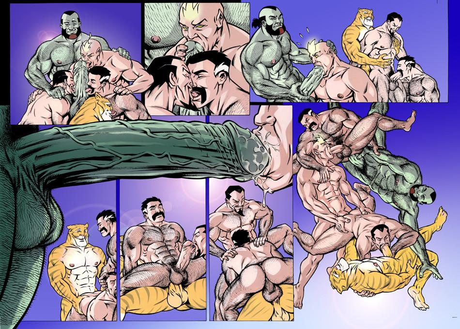 Гей Порно Комикс Sandman