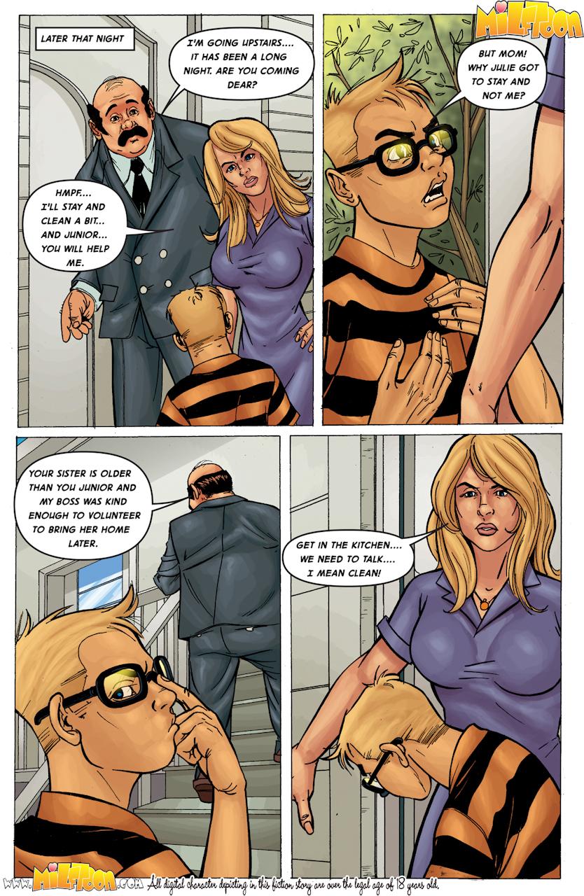 Final, Dat ass porn comic