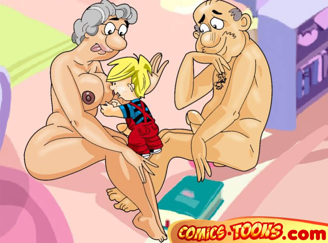 Dennis the menace cartoon porn comics