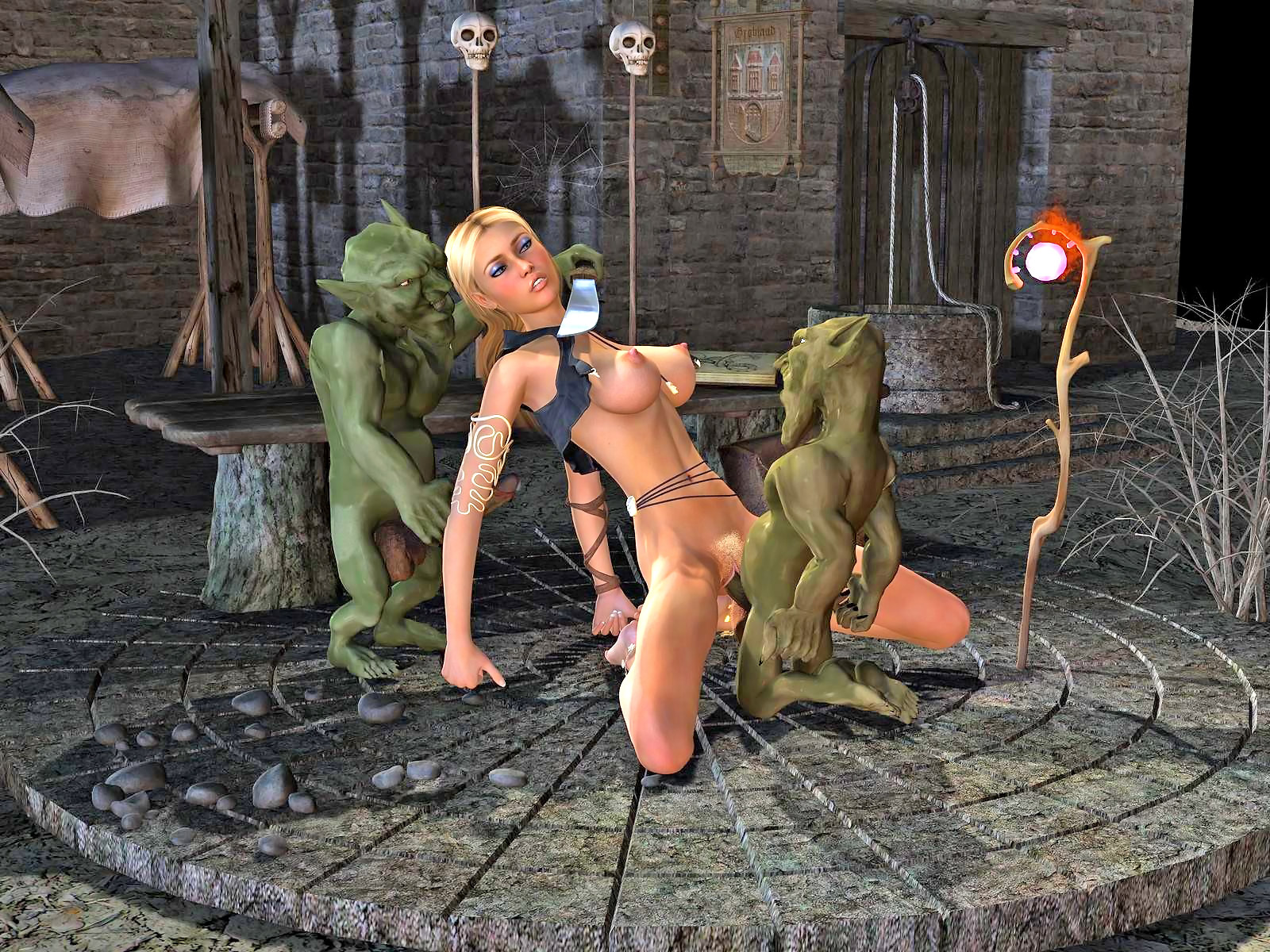 Picsik monster hentai 3d adult drunk slaves