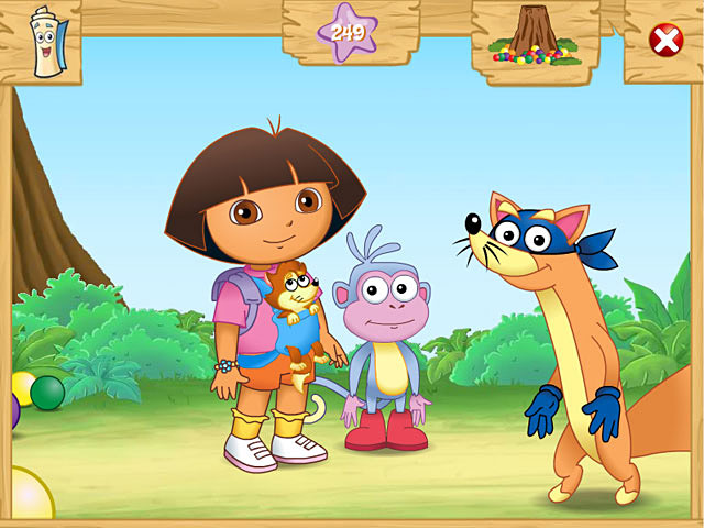 dora the explorer porn screen dora explorer swiper adventure captures macgames swipers cran