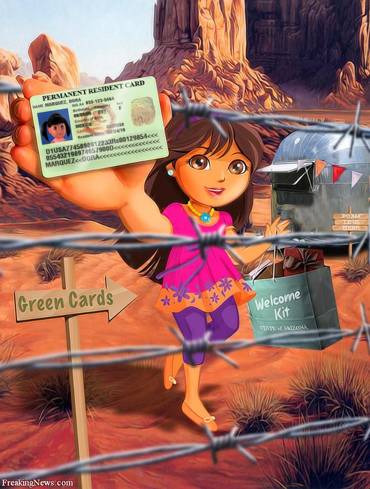 Dora The Explorer Porn Dora Explorer Illegal Immigrant