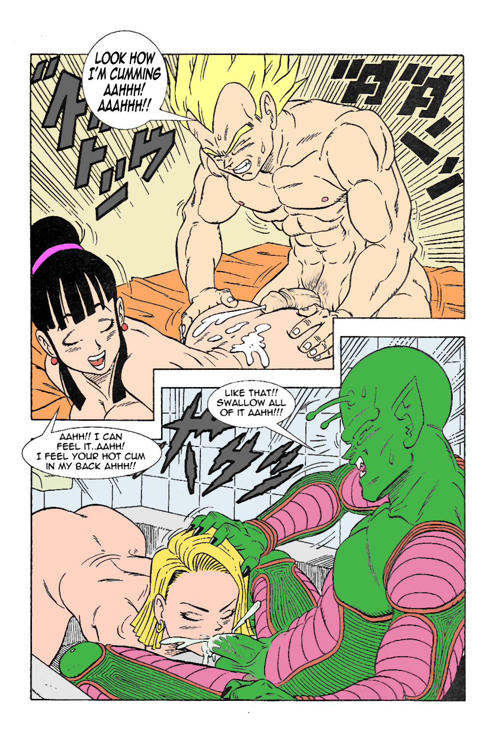 Have faced Dragon ball z chichi porn comic topic agree