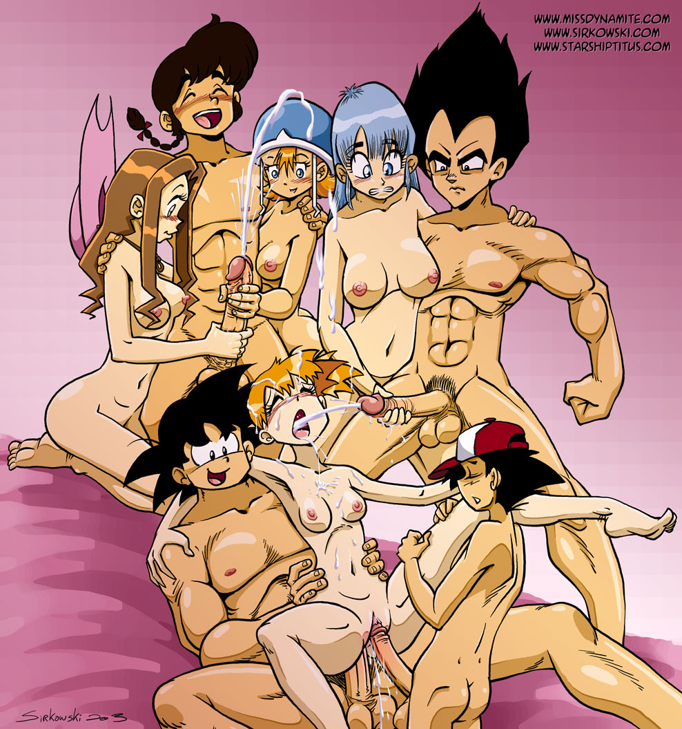 Dragon Ball Z Porno Misty Entry Ash Bulma Briefs Son