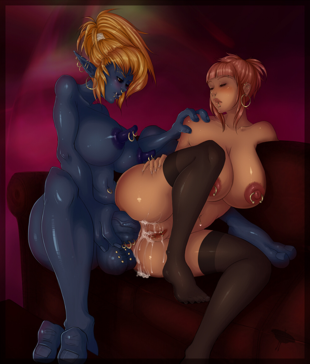 Blue 3d elf girl fucked by human sex photos