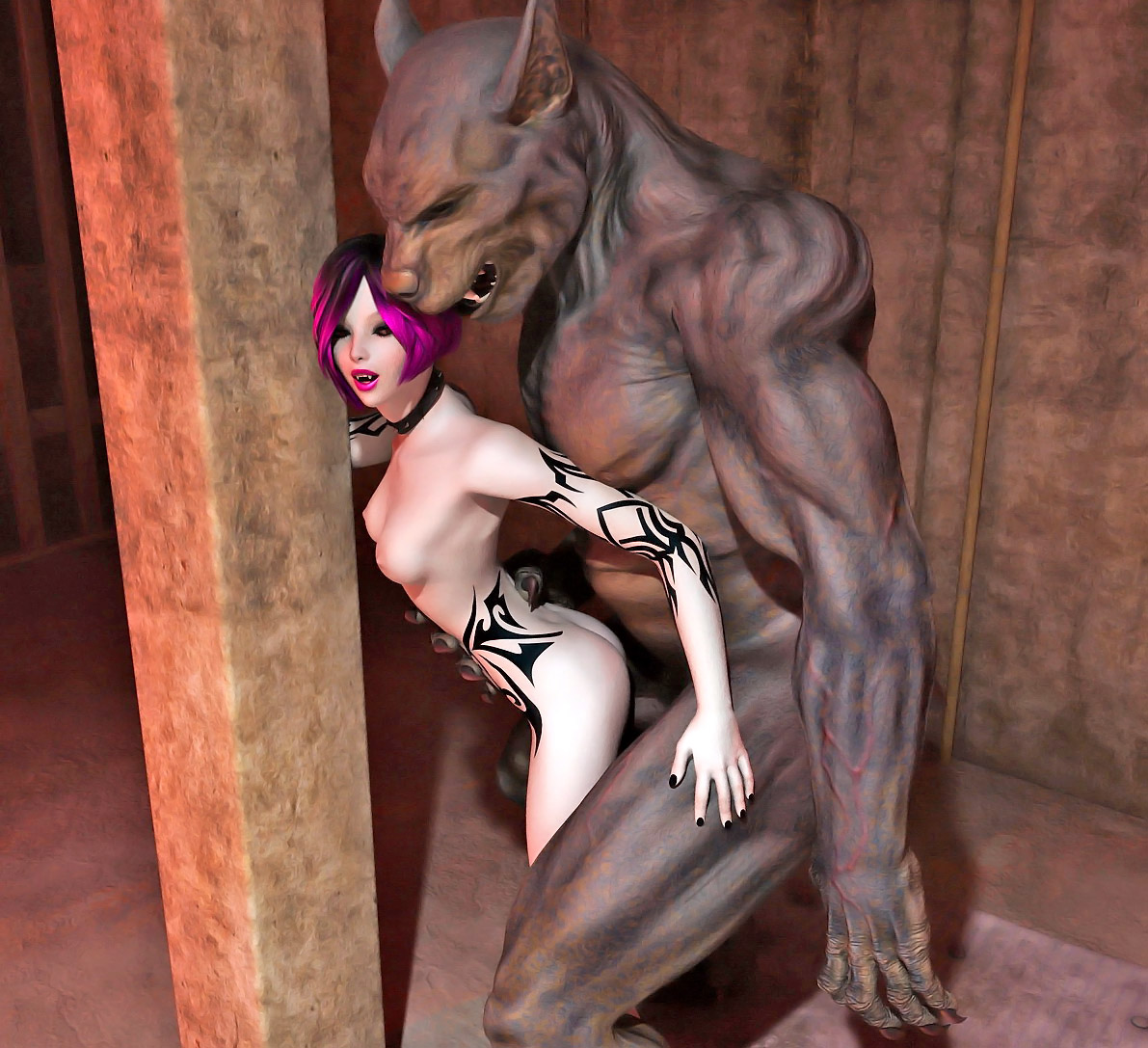 3d dark elf fuck by werewolf sex pictures