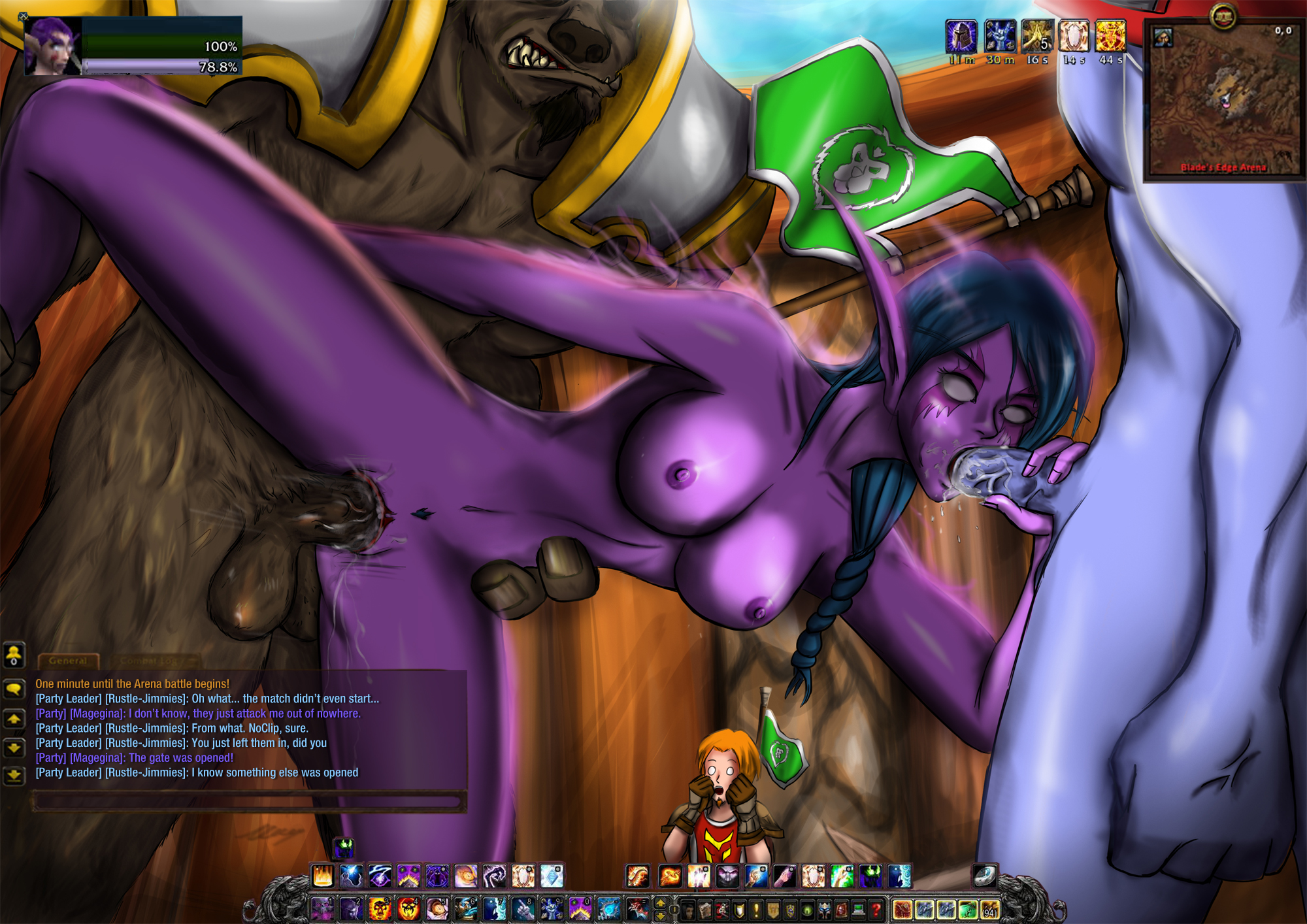 World of warcraft porn night elf video porn video