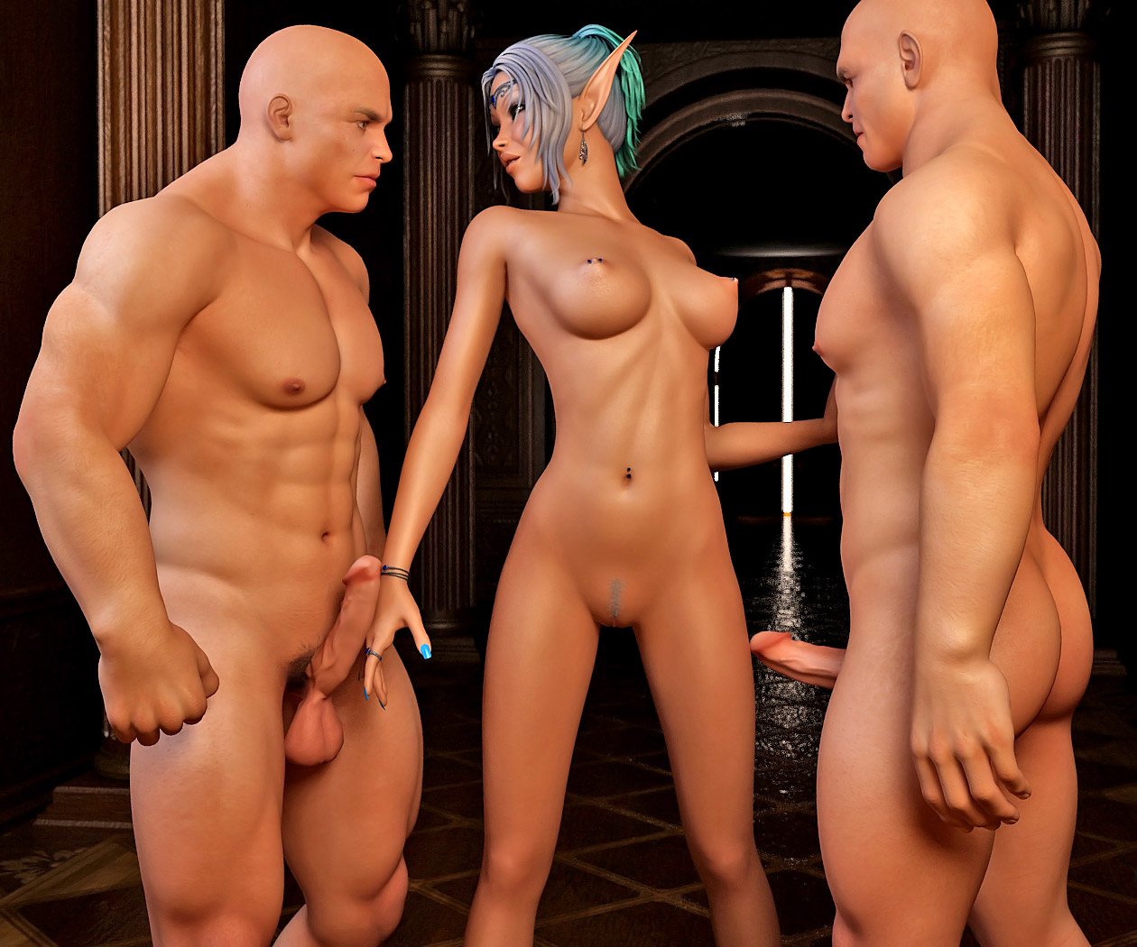 Naked sexy elf woman fucking video erotica pussys