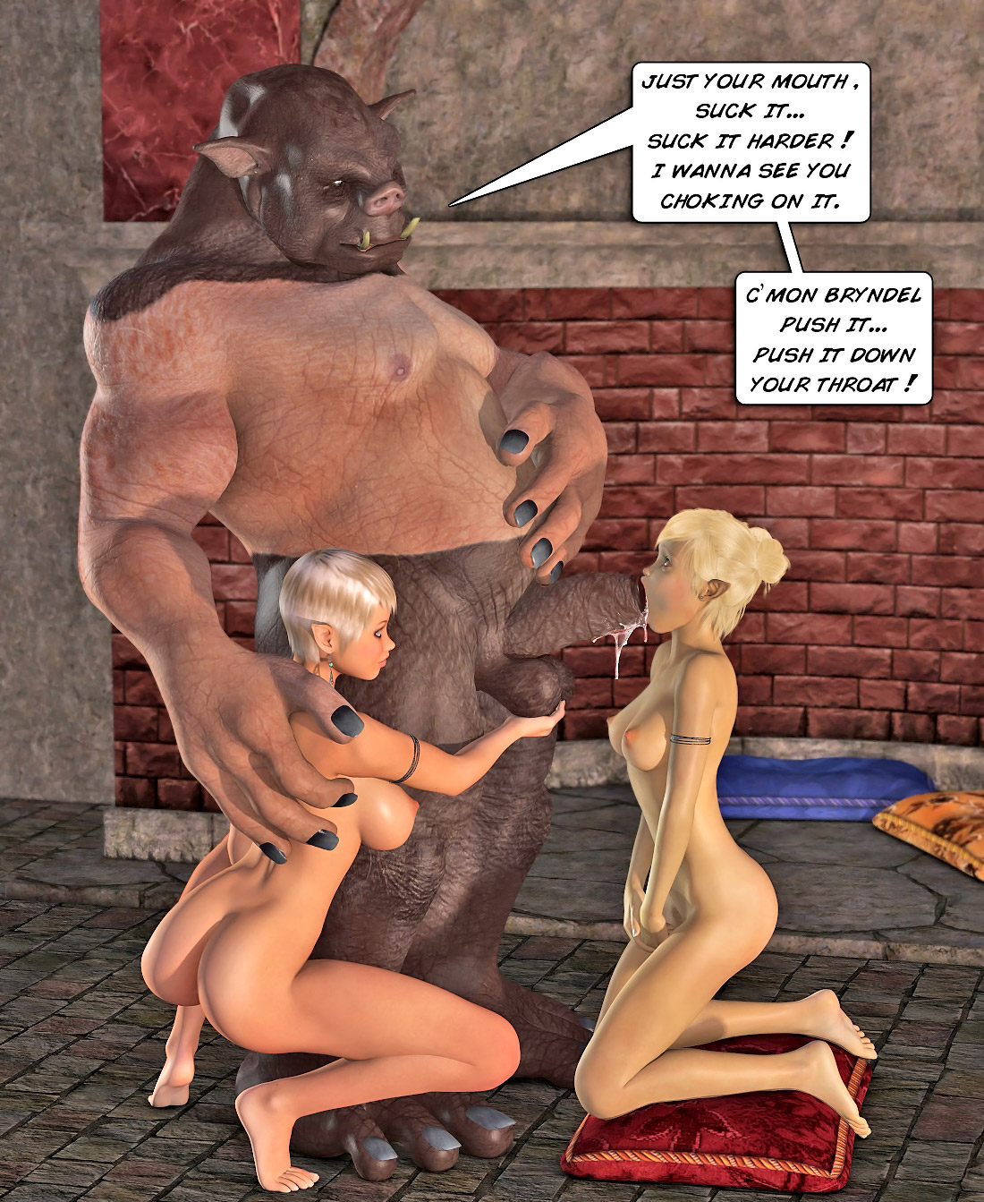 Elf sex slave for orcs hentai fucks galleries