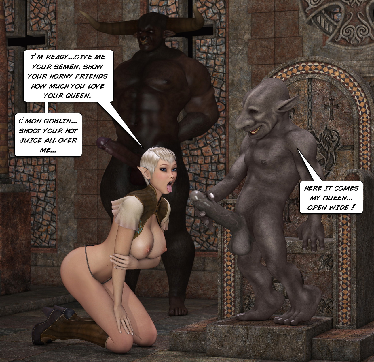Goblin queen xxx erotic images