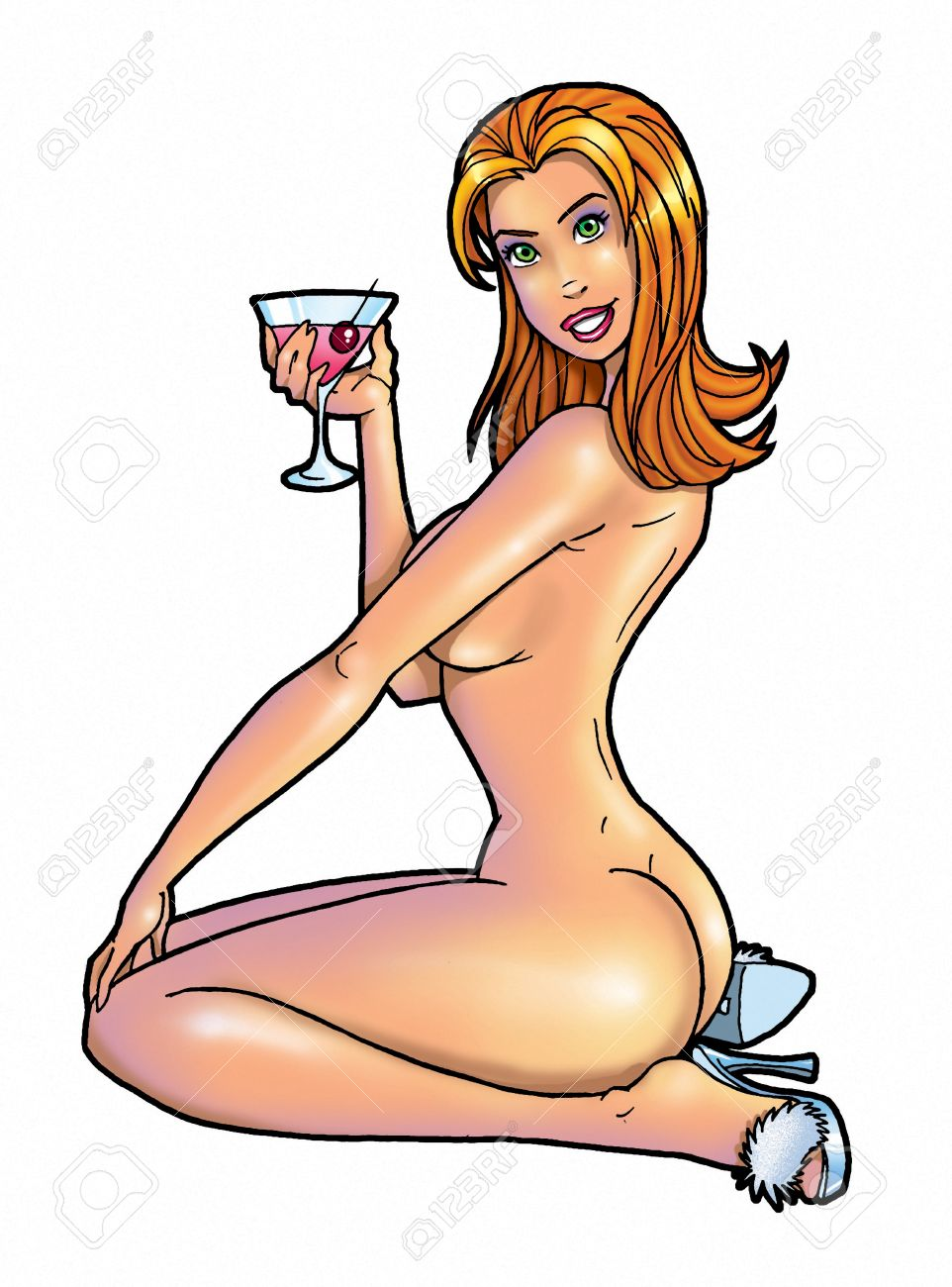 Nude cartoon girl picture nsfw pictures