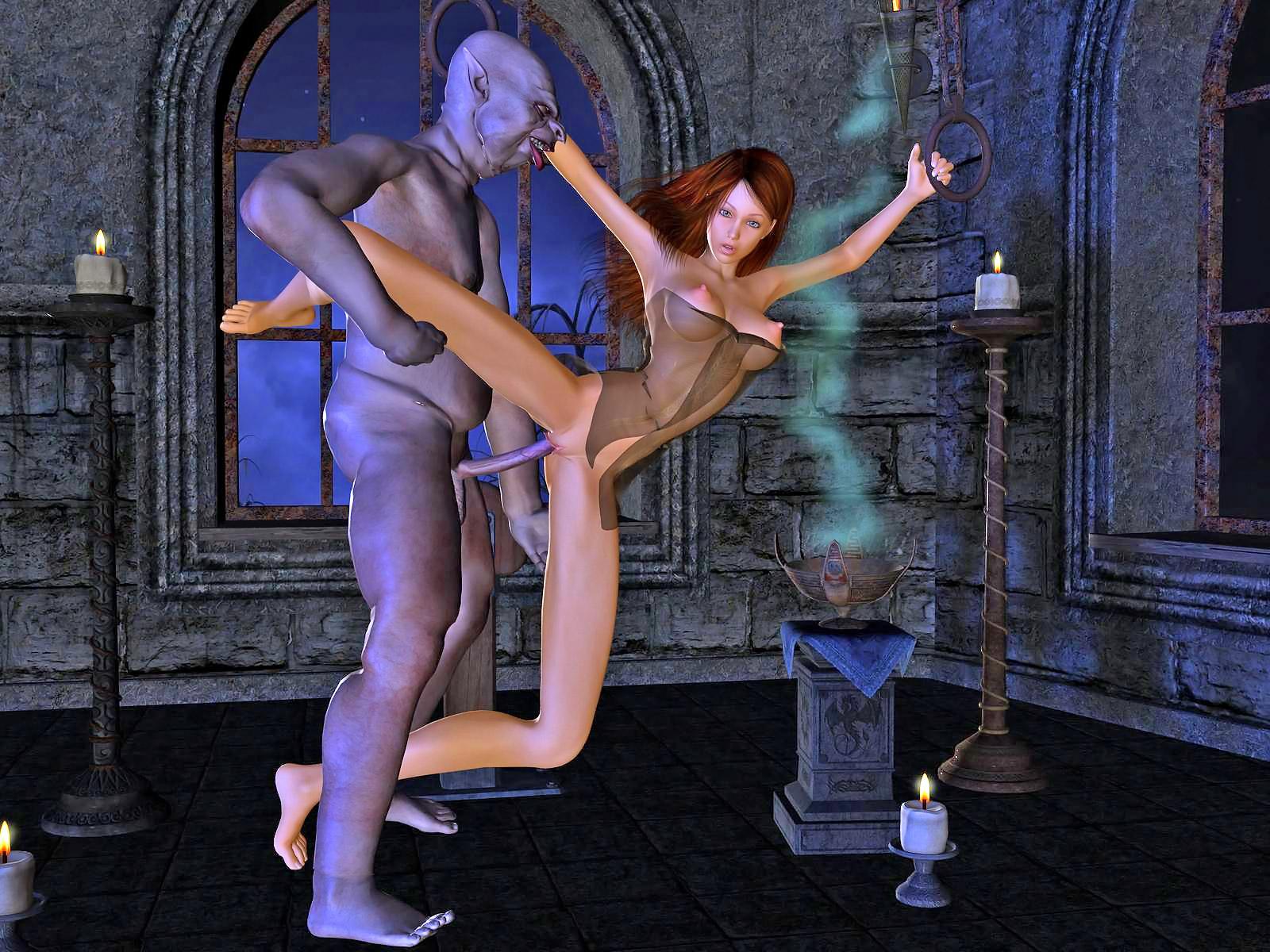 Hot fantasy toon adult scene