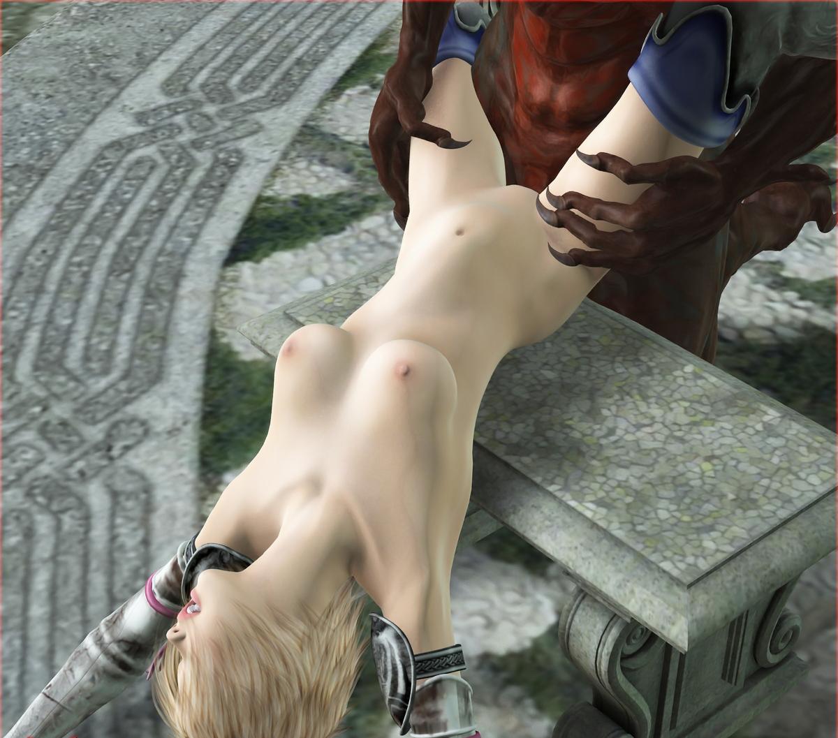 3d monster kills nude woman hardcore scene