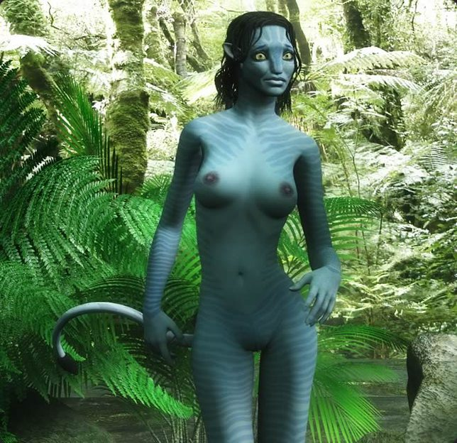 Neytiri avatar nude fake