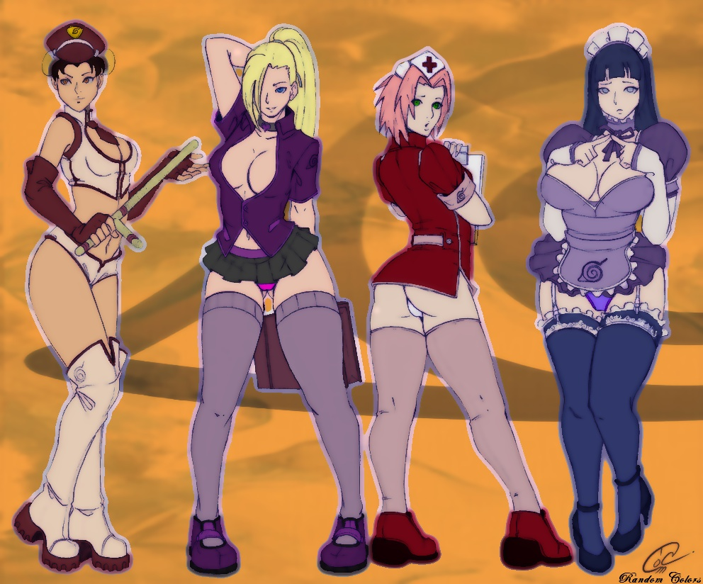 Hentai Sexy Naruto Web Collection Anime Hinata Ino Yamanaka Sakura
