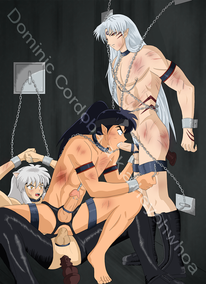 Bdsm xxx slave boy gets tied up and receives hardcore sex 9