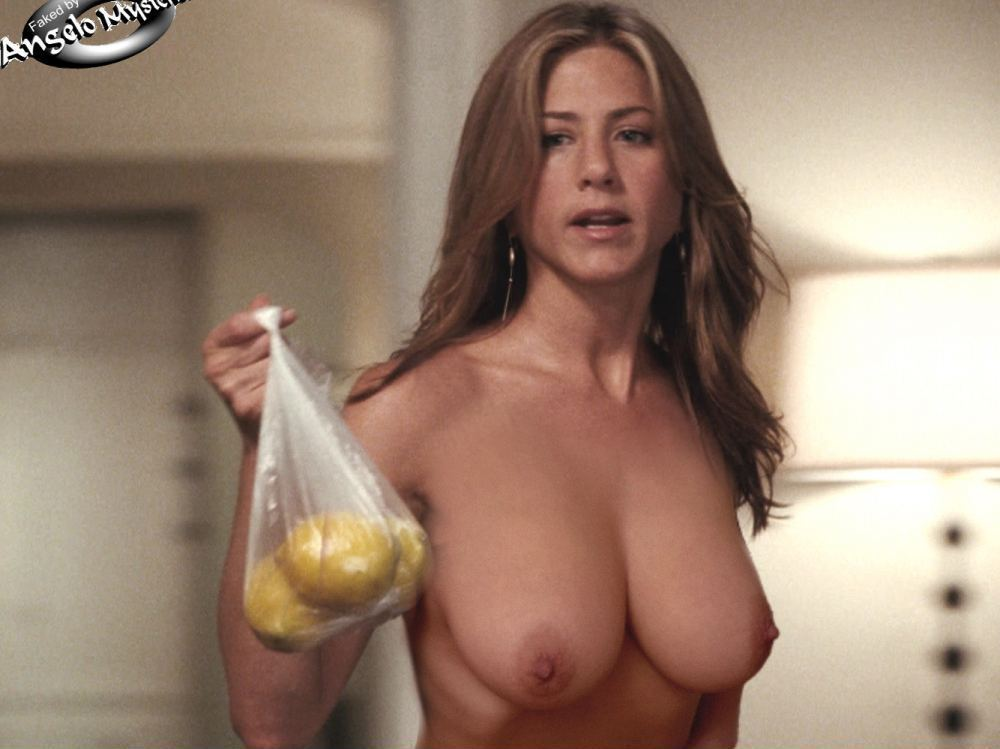 Aniston nude naked fake fakes