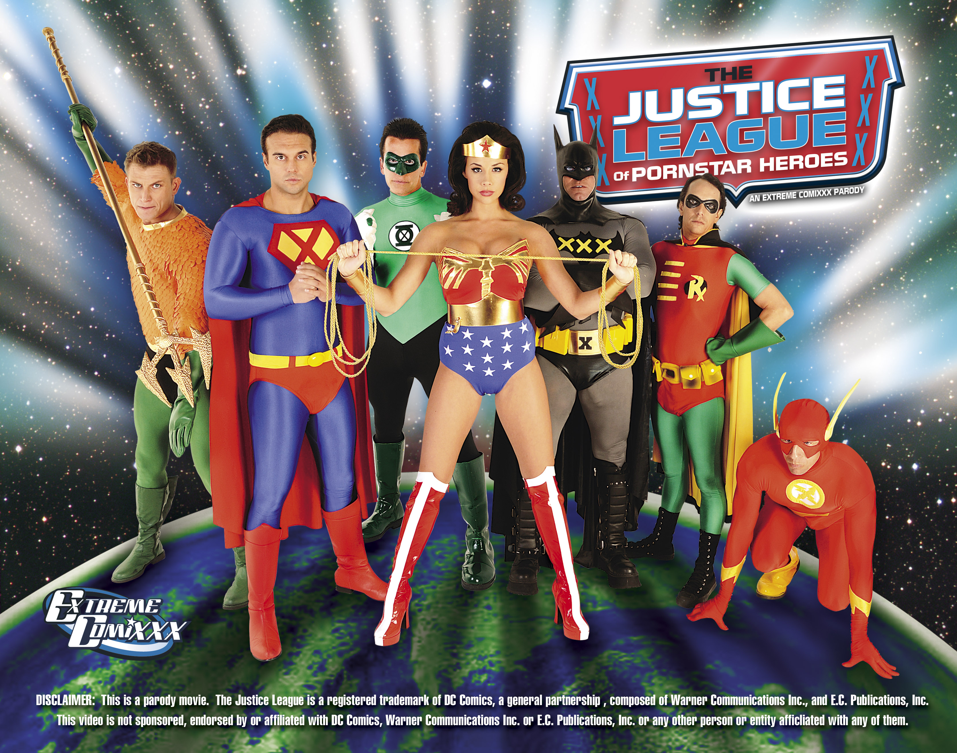 Justice League Porn Parody Star Heroes Out Sold