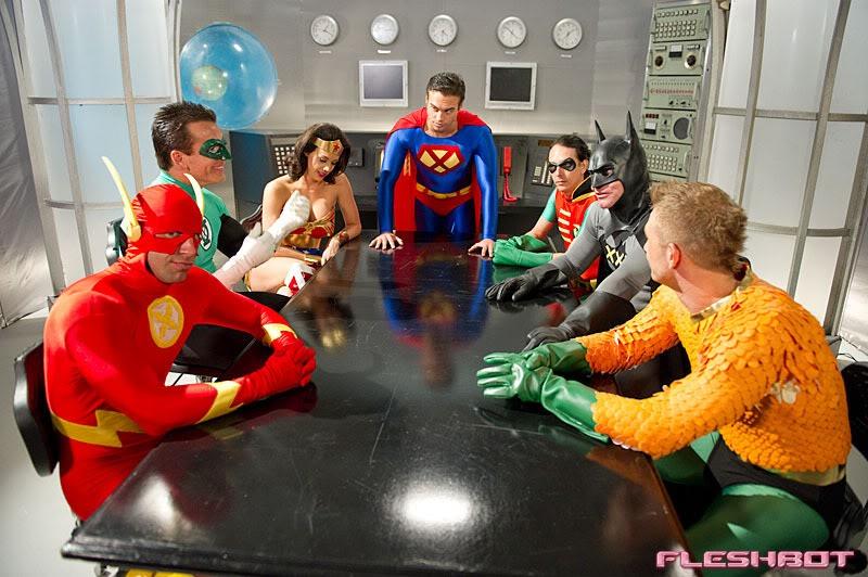 Justice League Porn Albums Badgerspoon Gutter Koga