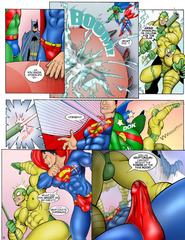 Justice league gay porn comics