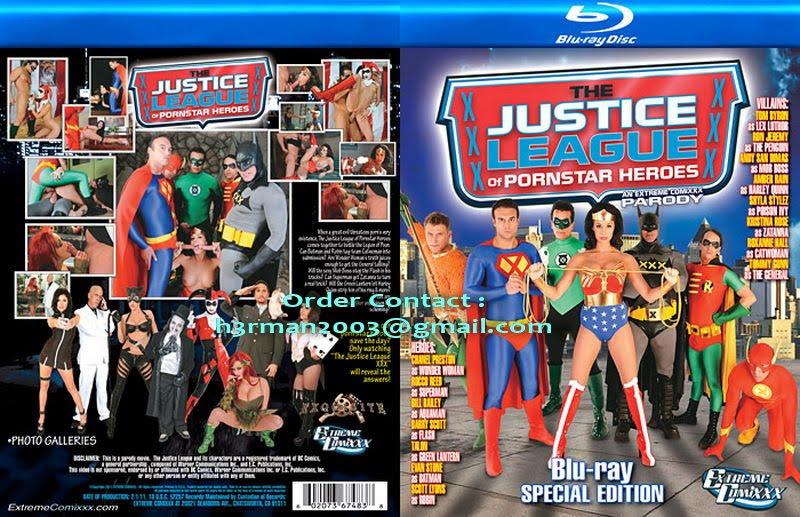 Justice League Porn Heroes Pornstar