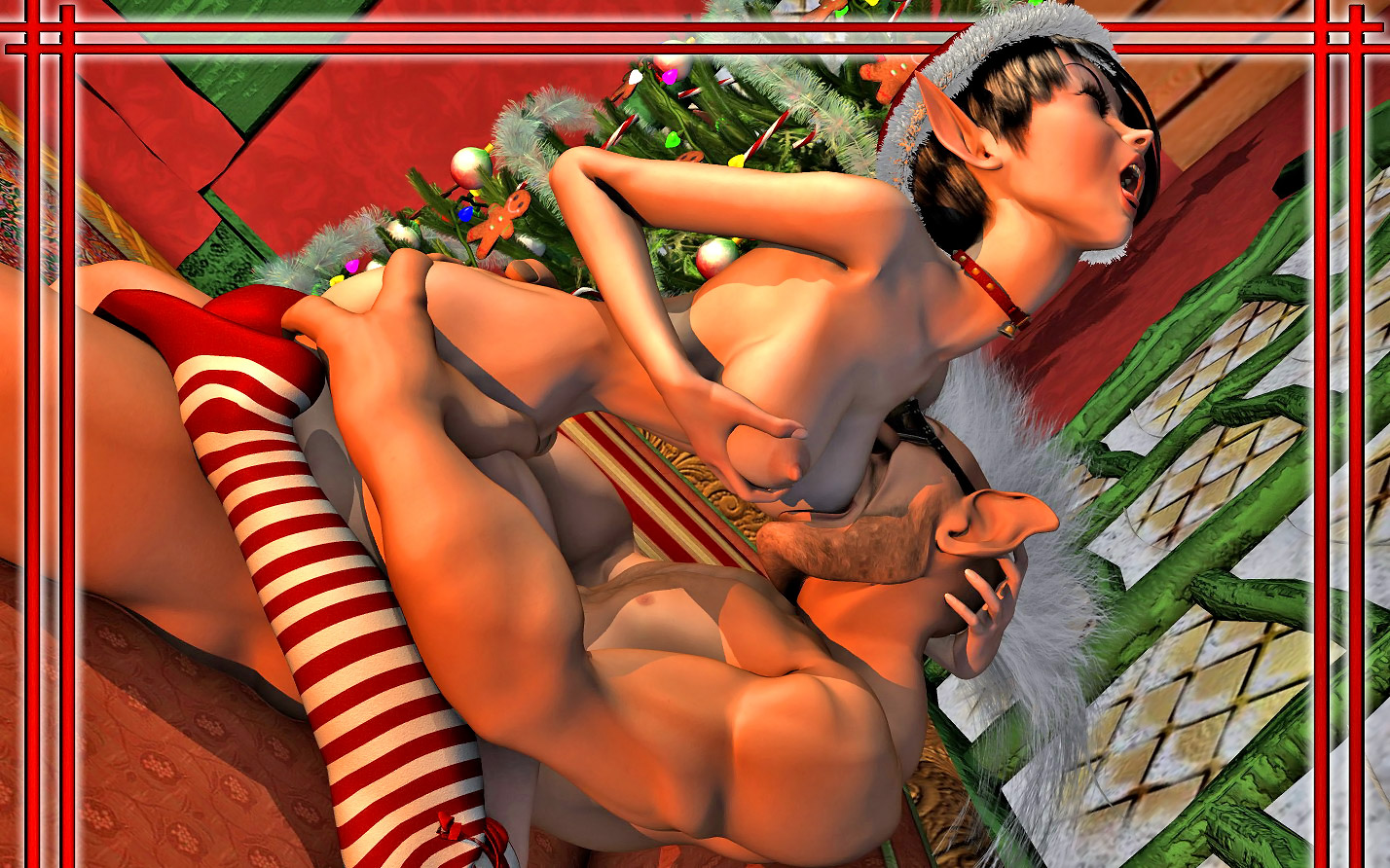 Christmas woman elf porn nudes download