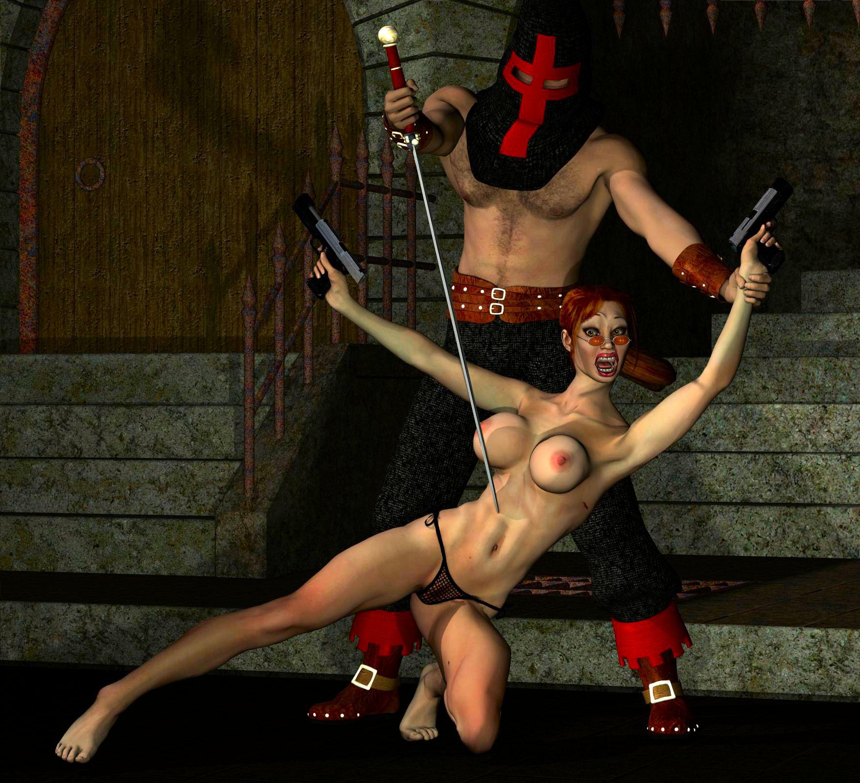 Hentai troll 3d lara croft sexy nerdy slut