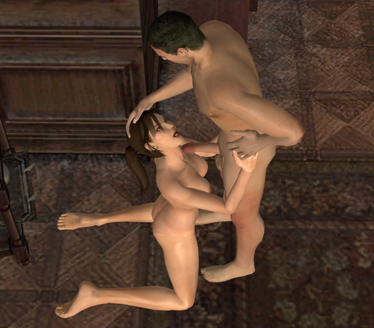 Tomb raider lara croft nude mod fucks chick