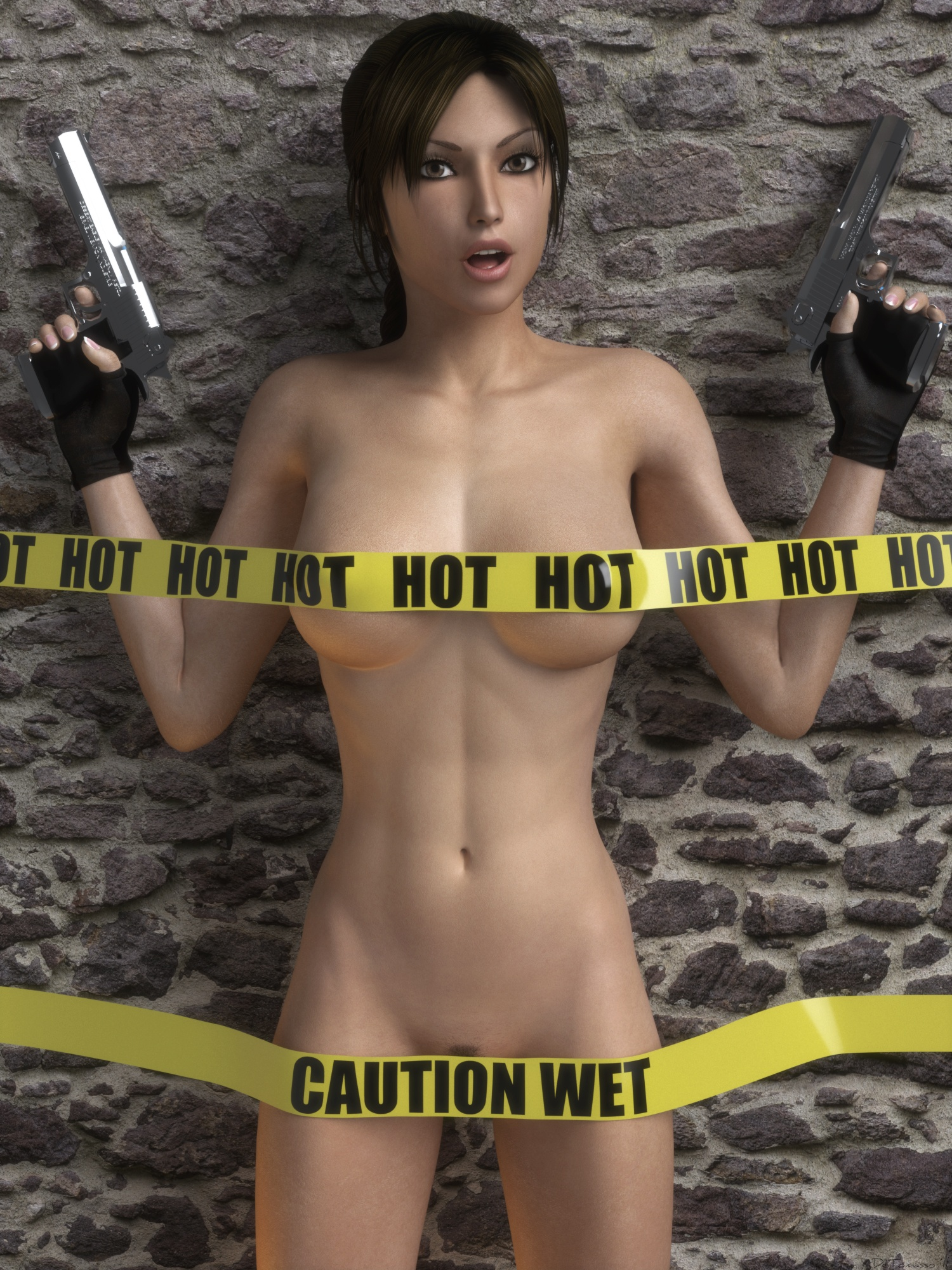Game lara croft nude porn comic