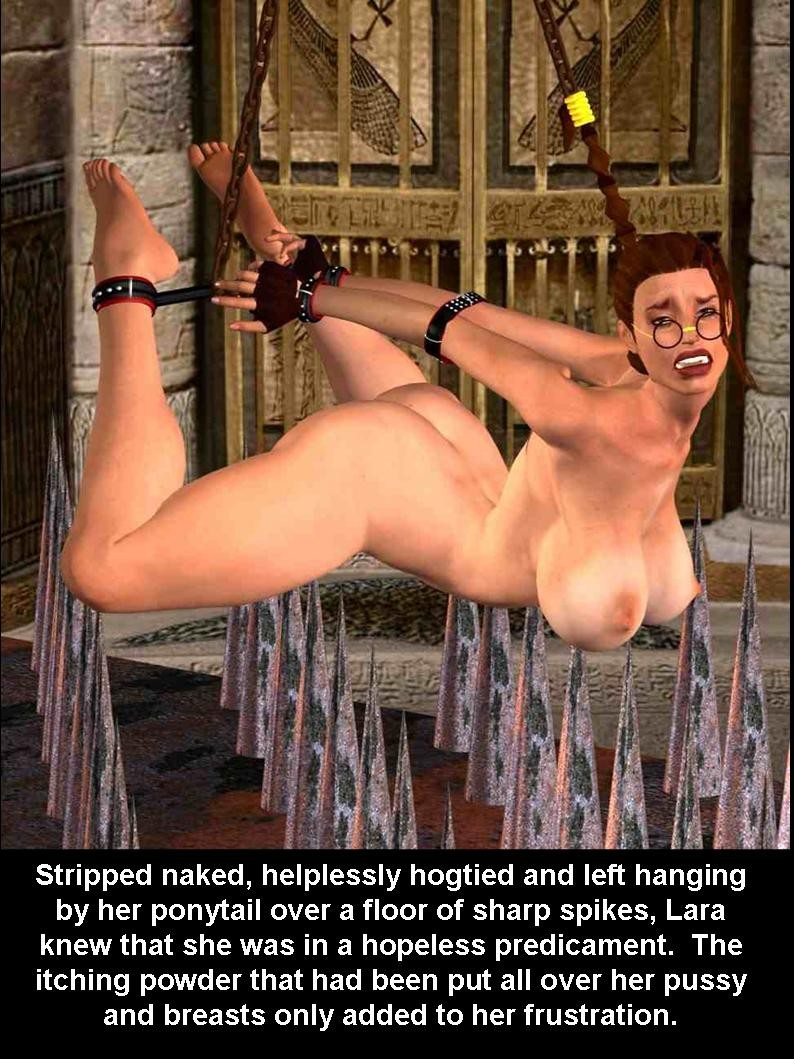Lara Croft Porn Cartoon Anime Bondage Tomb Raider