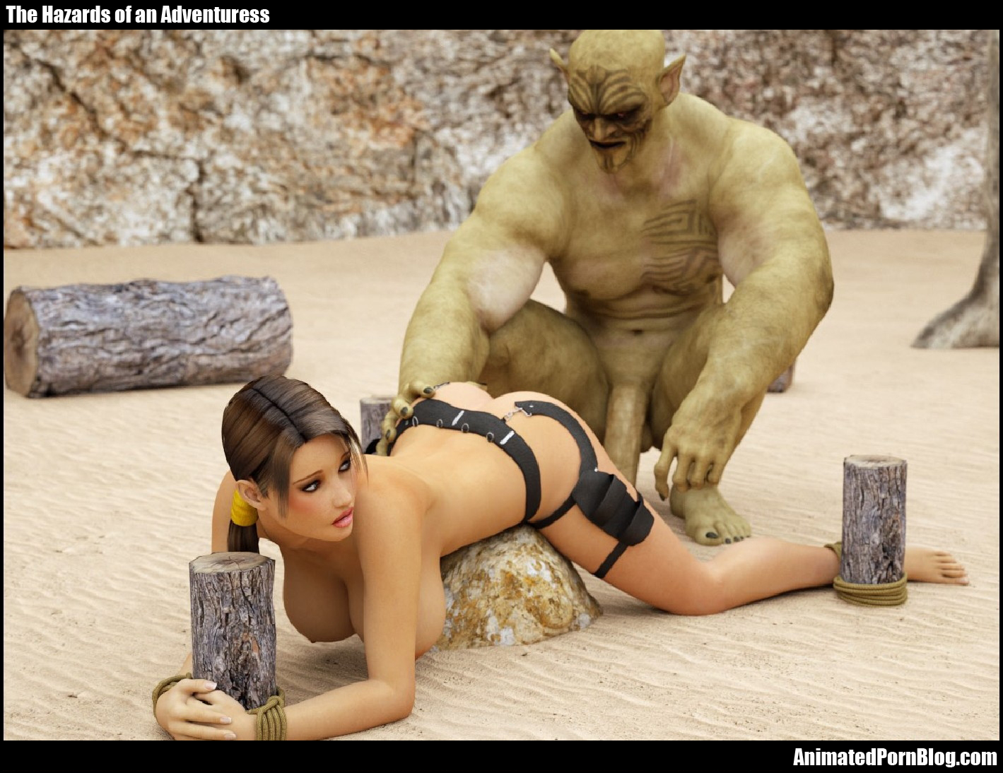 Lara croft fucking monsters naked picture