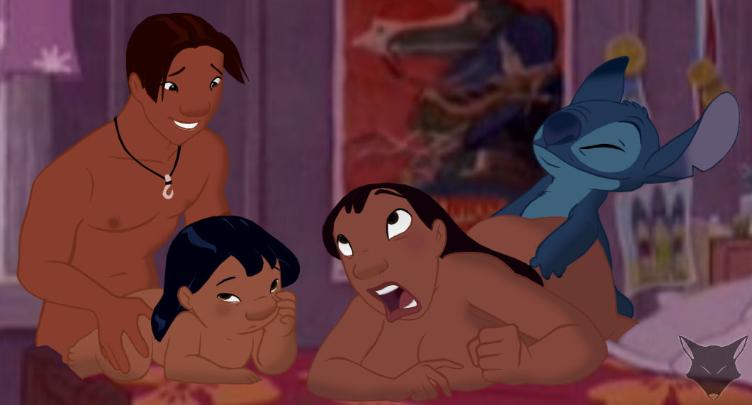 lilo and stitch are naked sex