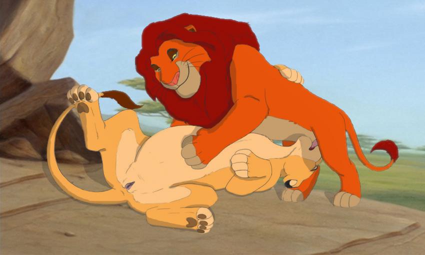 Секс со львами фото
