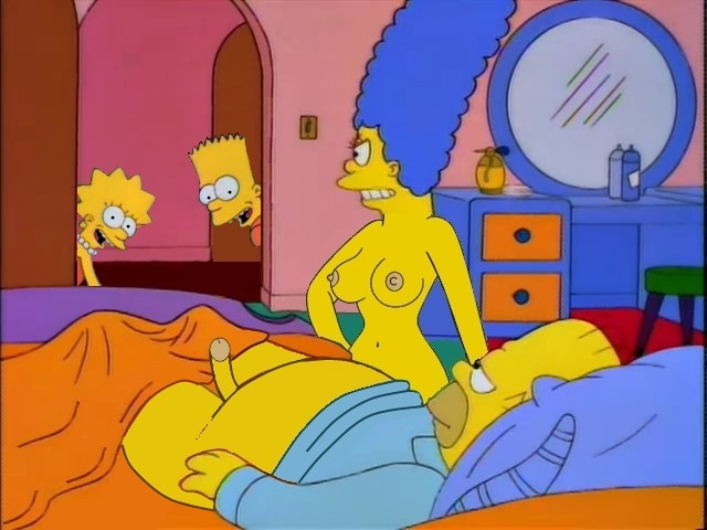 lisa and marge simpsons nude posing porn simpsons marge simpson homer lisa bart entry walk