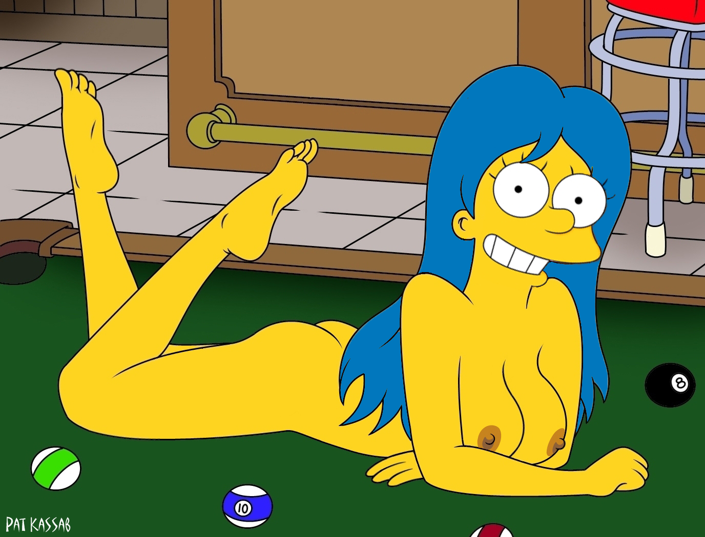 This brilliant Nude pics of Marge Simpson right! good
