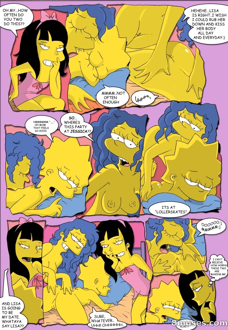 Симпсоны без трусиков 9 фотография