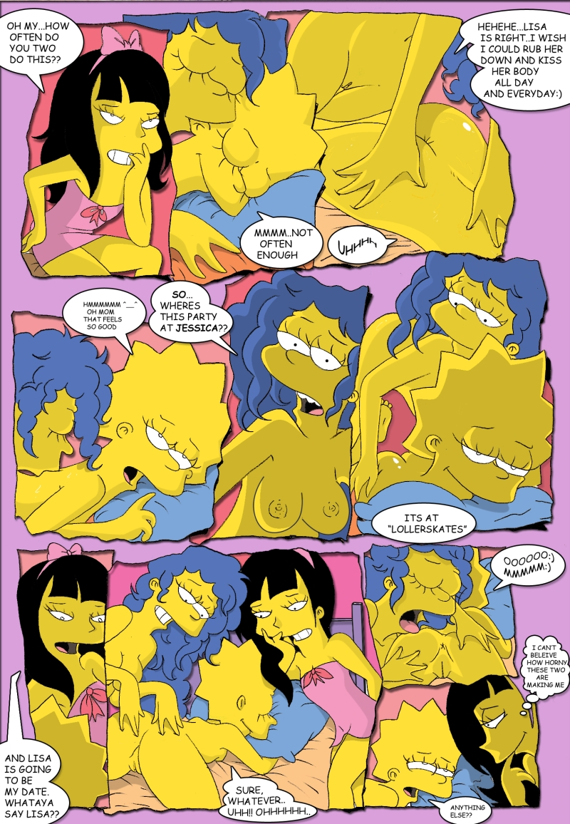 lisa and marge porn