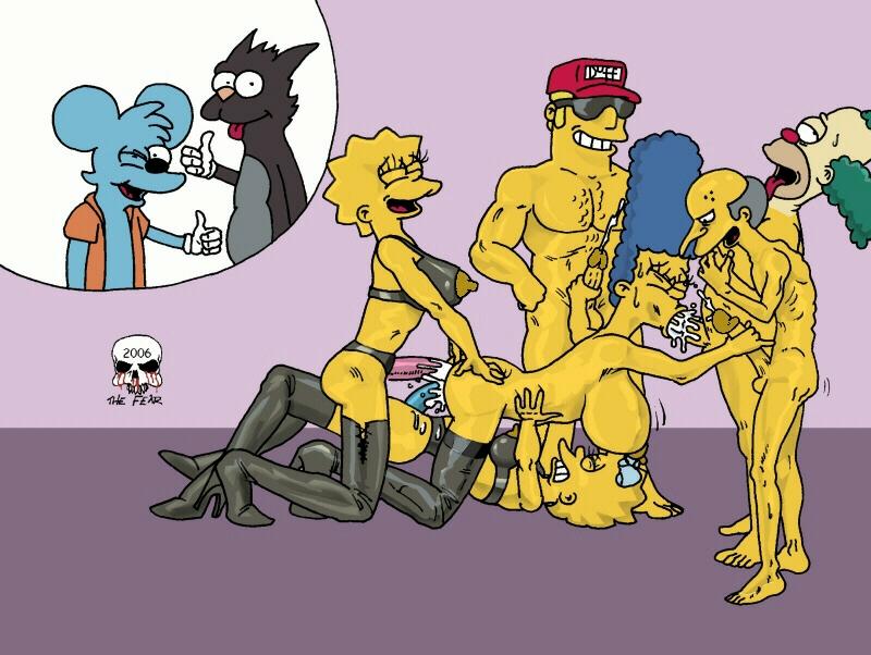 Lisa Simpson Porn Simpsons Marge Fear Maggie Duffman